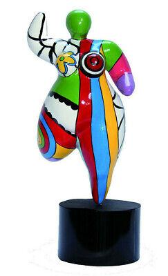 20090 Hommage an Niki de Saint Phalle Nana Molly dicke Frau DOLLY Figur