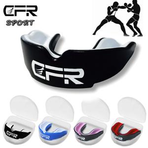 Mundschutz / Zahnschutz Gel Boxen MMA Rugby Hockey Kampfsport Schützt Zähne API