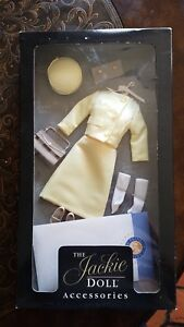 Franklin Mint Jackie Kennedy Vinyl Doll State Visit to Mexico Ensemble For Doll