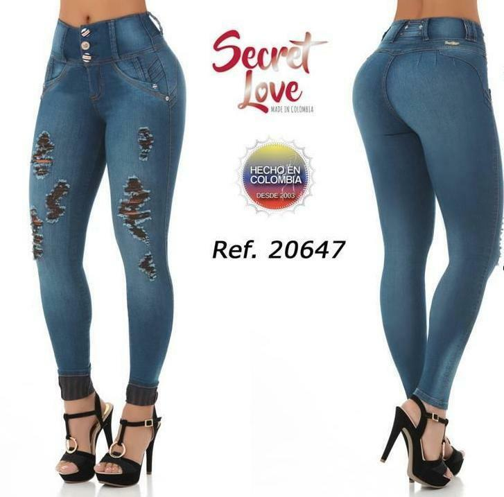Jeans Colombiano Levanta Cola PUSH UP 20647