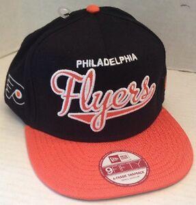 Phiadelphia Flyers Size S M Hat New ERA 9fifty Snapback Cap Orange ... e74c750a9ebc