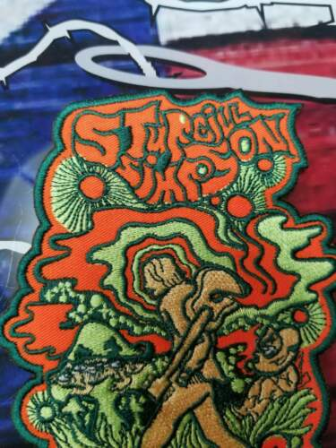 EMBROIDERED STURGILL SIMPSON COUNTRY BAND CONTOUR PATCH