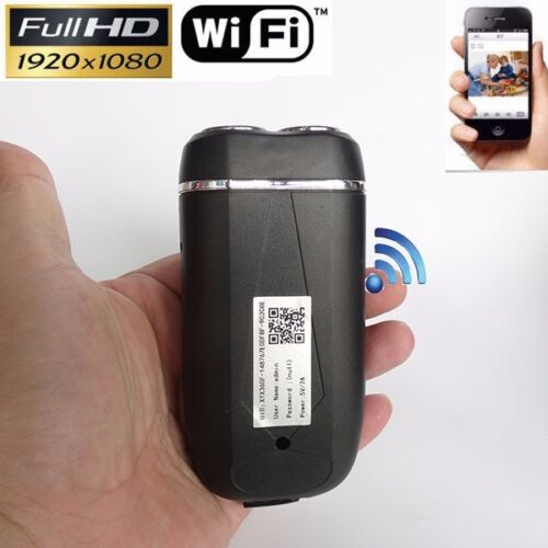 electric shaver model Wifi Module  DVR Video Wireless HD 1080P SPY Hidden Camera