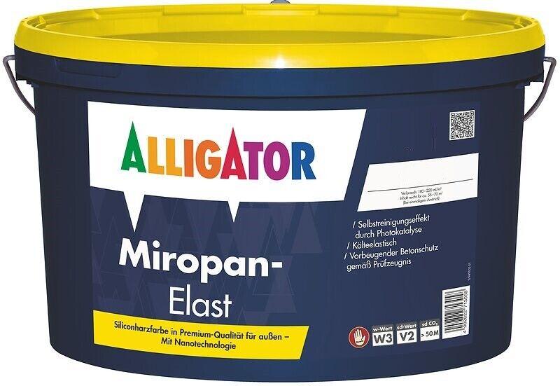 Alligator Miropan-Elast 12,5 Liter weiß - Siliconharz, Nano-Technologie -