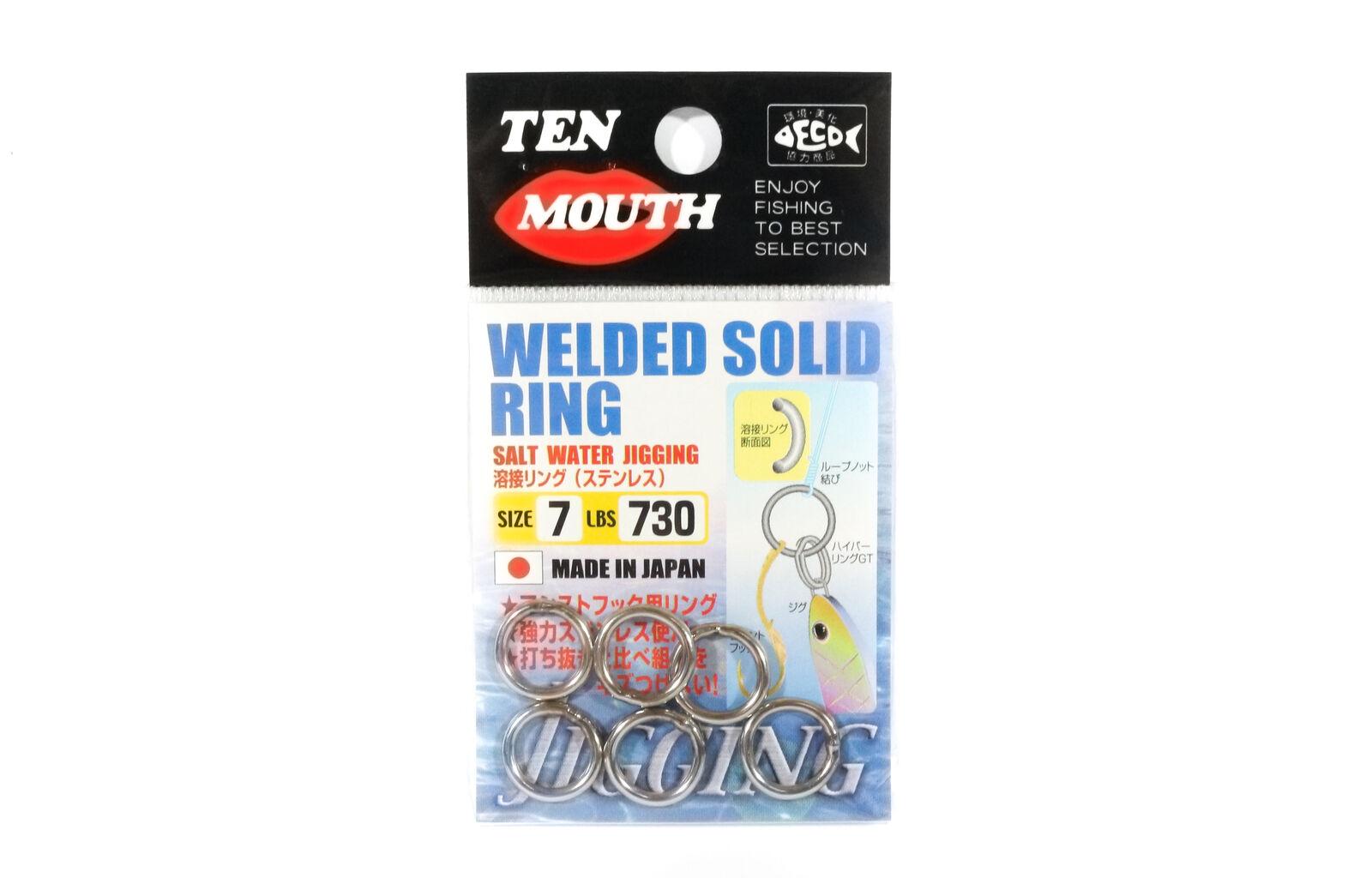 0737 Kahara Split Ring Stainless Steel Size 6