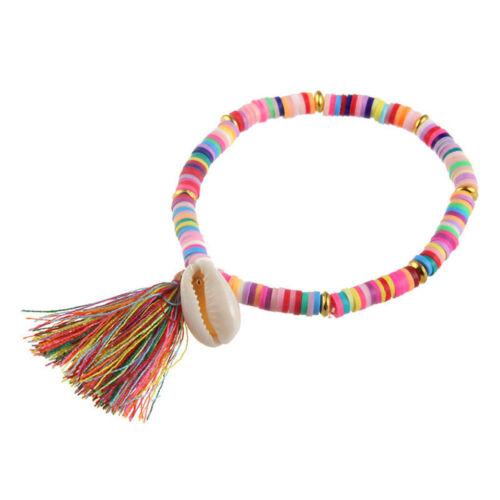 Jewelry Colourful Shell Bracelet Bracelets Boho Bracelet Soft Pottery