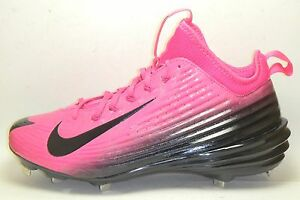 96fd0f627d2 Mothers Day Pink Nike Lunar Vapor Mike Trout Metal Baseball Cleats ...