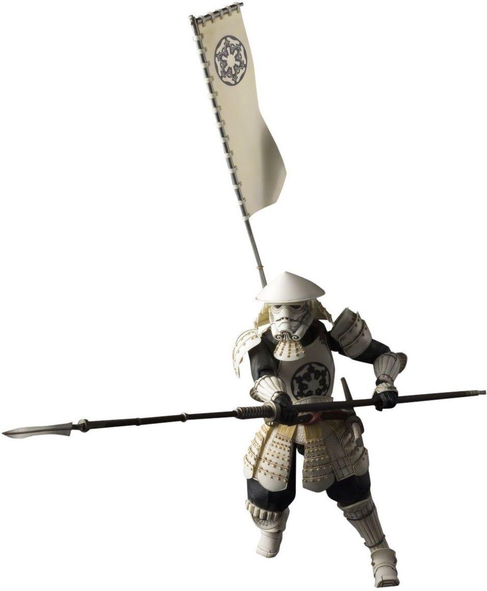 Star Wars Meisho Movie Movie Movie Realization Yari Ashigaru Stormtrooper Action Figure a689a7