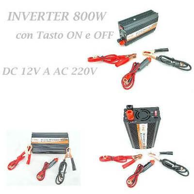 1500 W WATT DC 12 V AC 230 V Portable Auto inverter caricatore convertitore potenza trasformatore 081 Store
