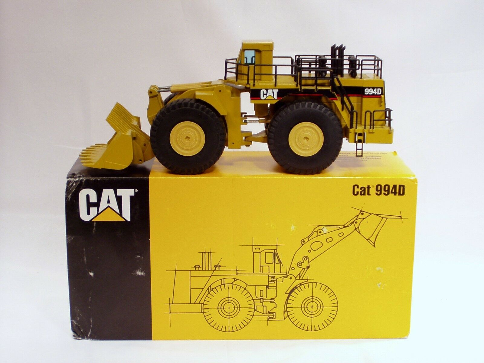 Caterpillar 994D Wheel Loader - 1/50 - NZG #478 - N.MIB