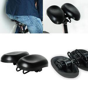 verstellbare extra breite gro e mtb fahrrad sattel damen. Black Bedroom Furniture Sets. Home Design Ideas
