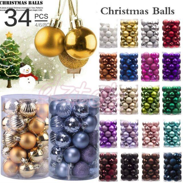 Christmas Ornament Tree Hanging Festival Party Xmas Metal Tone Jingle Bell Decor