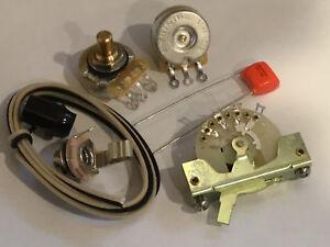 Details about TAOT TELE® Wiring Kit - CTS Pots, CRL 3-way, 047 Orange Drop  Cap - Telecaster®