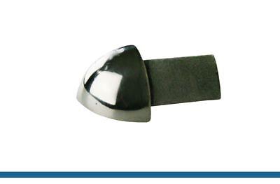 coins ext rieur 11mm profil pour carrelage quart de rond acier inox brilliant ebay