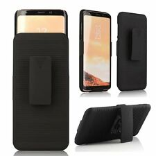For Samsung Galaxy S8 Holster Case Cover with Belt Clip +Stand phone accessory