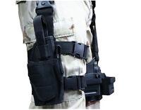 Adjustable Tactical Military Pistol Gun Drop Thigh Leg Holster Bag Pouch Holder