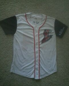 size 40 08582 47394 Details about Round Rock Express #34 Nolan Ryan Minor League Youth XL  Button-up Jersey
