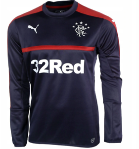 GLASGOW RANGERS Training Sweat Top PUMA 2016-2017 The Gers NEW TAGS adult SIZE M