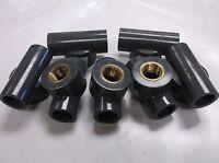 7x Gf Piping Systems 1/2 In Fnpt X Socket X Socket Tee Pvc Gray (d33)