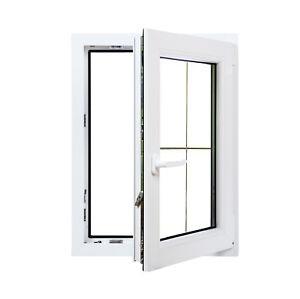 finestre in pvc bianco aluplast id 4000 con inglesine