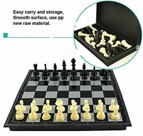 Folding 100% Standard Materials and Smooth Surface Magnetic Chess 9