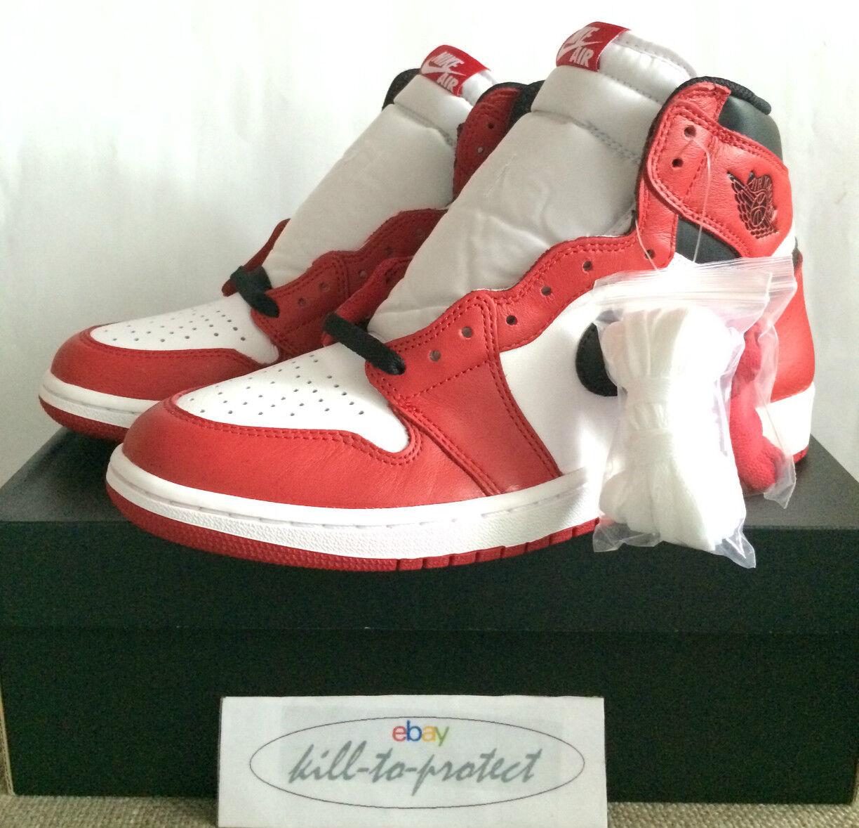 Nike air jordan 1 retrò og chicago sz unito noi 8 9 10 11   g, figlio di dimensioni 555088-101