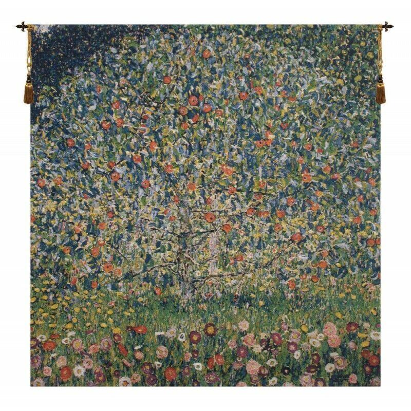 Apple Tree Klimt Belgian Tapestry Wall Hanging