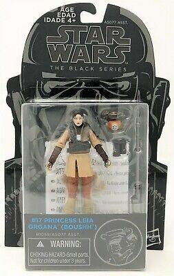 "Star Wars Black Series Princess Leia Organa Boushh #17 Action Figure 3.75/"" Toy"