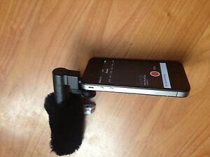 Parabrisas Parabrisas encaja Belkin acción en vivo Mic f8z818 Para Iphone 4 4s 5