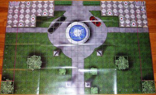 WAYNE MANOR GROUNDS & POST CATACLYSM Batman No Man's Land Event Map DC HeroClix