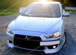 Mitsubishi-Lancer-X-2007-2011-front-bumper-lip-corner-spoiler-abs-front-fangs