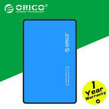 "ORICO Blue USB 3.0 2.5"" SATA External HDD Hard Disk Box External Enclosure Case"