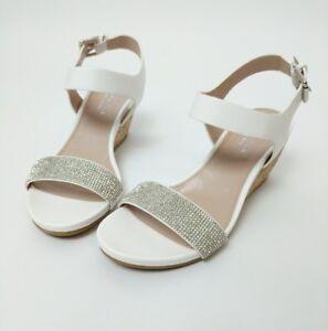 New Kurt Geiger Carvela Sandals White