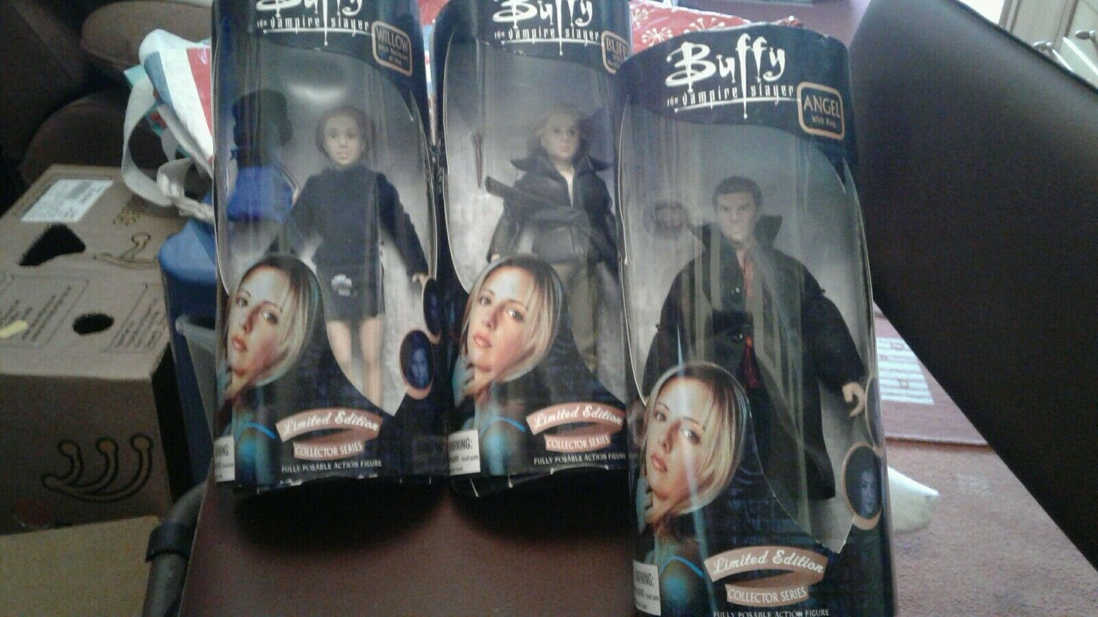 Diamond Select Buffy Vampire Edición limitada conjunto de 3 colector serie