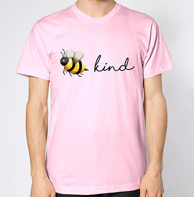 Chest Back Honey Bee Print T-shirt Nature T-shirt Fashion Hive Top Wasp Style T
