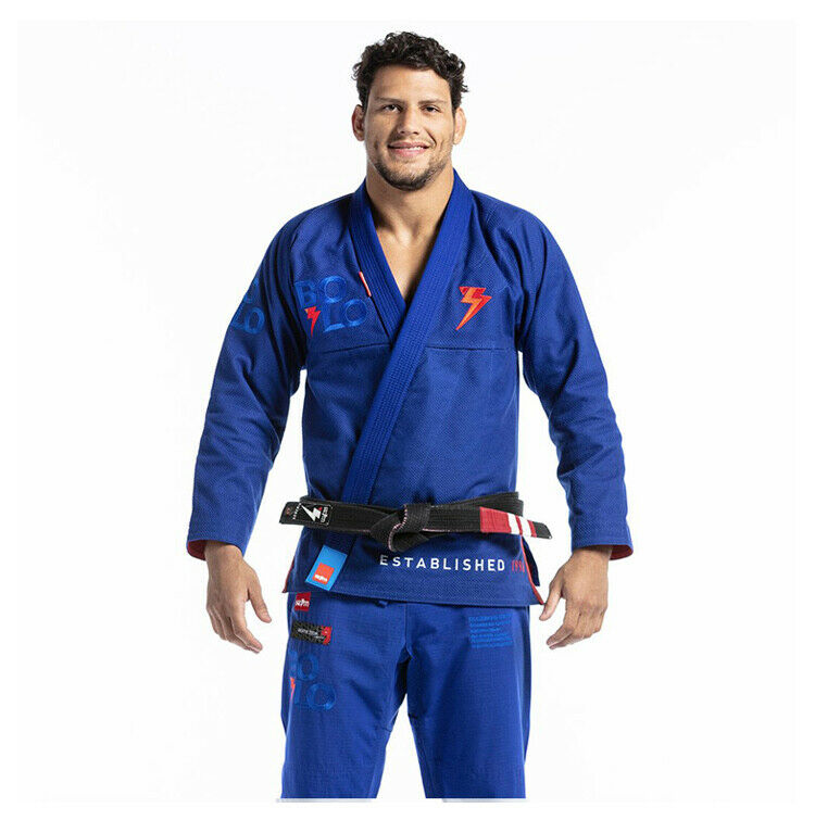 Storm Jiu-Jitsu Kimonos Stealth Bolo  bluee kimono' Gi Jiujitsu Uniform  best quality