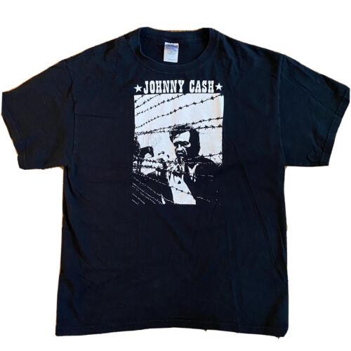 Vintage Deadstock Rare Johnny Cash T-Shirt Size La