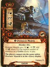 Lord of the Rings LCG  - 1x Overseer Maurul  #002 - Nightmare Deck Khazad-Dum