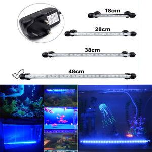Fish-Tank-Light-Bar-LED-5050SMD-Blue-Lamp-18-48cm-Aquarium-Lighting-Waterproof