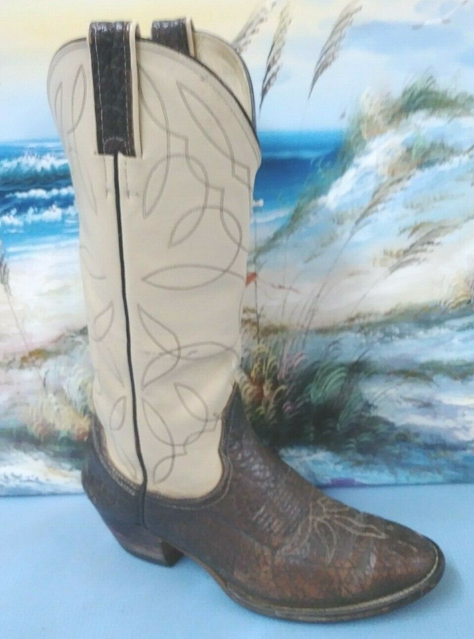 Sheneoah donna Diuominiione 8 D Marronee western cowbot stivali   3008