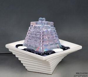 Hochwertiger Zimmerbrunnen im Feng Shui -Stil und LED Beleuchtung MN214290