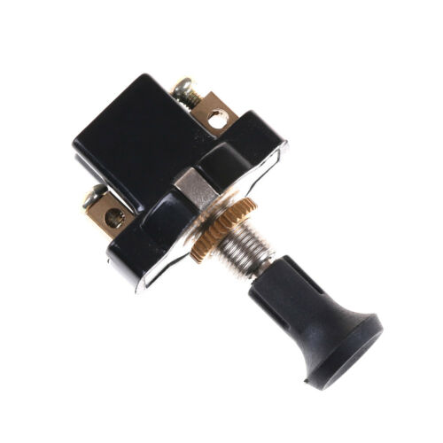 High performance On-Off Long Push Pull Switch 12V Screw Terminals Pip UK