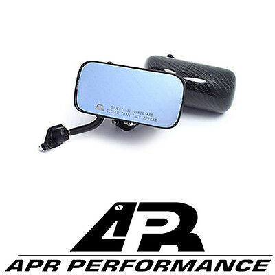 """APR Universal Formula GT3 Carbon Fiber Mirrors - 5.5"""" Mirror Lenses CF"""