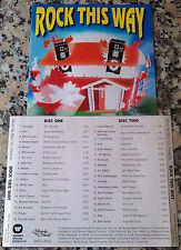 ROCK THIS WAY RARE 2 CD John Parr Head East Donnie Iris Vixen Asia Billy Squier