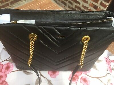 Dkny Vivian Leather Large Tote Bag