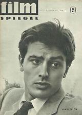 FILM SPIEGEL ALAIN DELON MARIANNE WÜNSCHER JANUAR 1963 NR 2 (FS495)