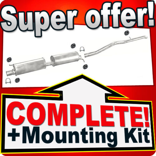 Ford Transit 2.0 DI TD SWB 2933mm 74//92KW 2000-2006 Silencer Exhaust System 795