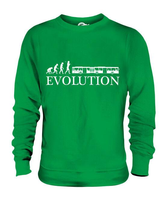 GELENKBUS EVOLUTION EVOLUTION EVOLUTION DES MENSCHEN UNISEX SWEATER PULLOVER PULLI HERREN DAMEN  | Optimaler Preis  | Elegant  | Ausgezeichnet (in) Qualität  3d6bb3