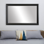 thumbnail 19 - Framed Wall Mirror - Black, White, Espresso/Brown, Nickel