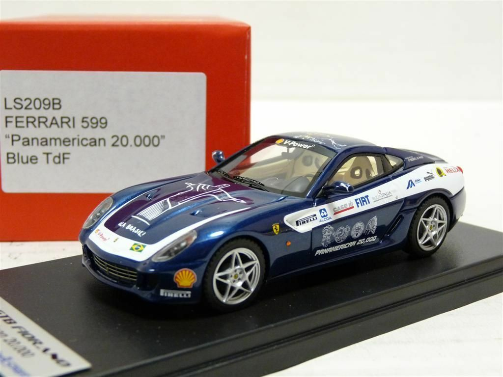 Looksmart LS209B 1 43 Ferrari 599 Panamerican TdF Handmade Resin Model Car